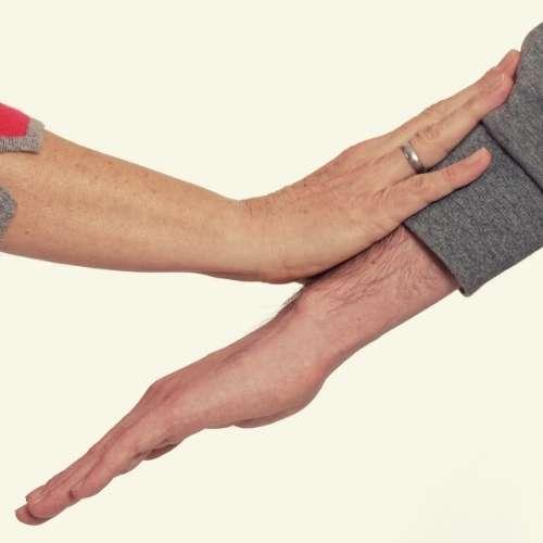 Zeigt den Muskeltest